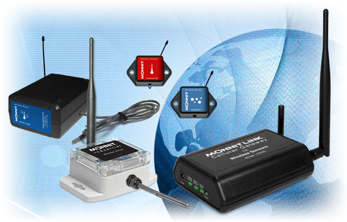 Monnit Global Wireless Sensor Products
