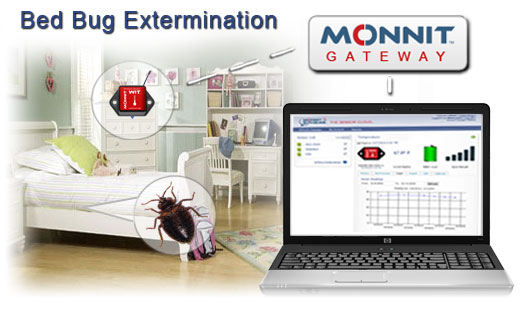Bed Bug Extermination using Wireless Temperature Sensors