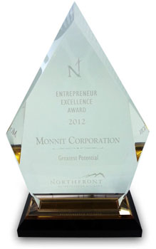 Monnit - Greatest Potential Award