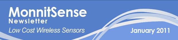 MonnitSense Newsletter - January 2011