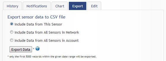 Export Monnit Sensor Data