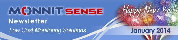 MonnitSense Newsletter - January 2014