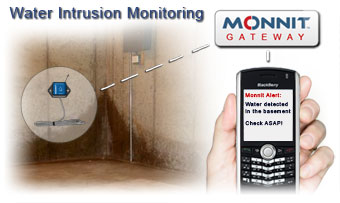 Water Intrusion Monitoring