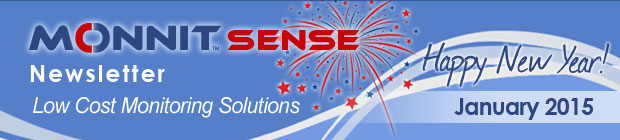 MonnitSense Newsletter - January 2015