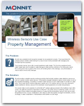 Monnit - Wireless Sensors Use Case for Property Management
