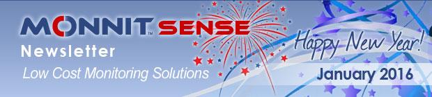 MonnitSense Newsletter - January 2015