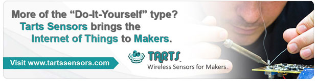 Do-It-Yourself with Tarts Wireless Sensors for Makers