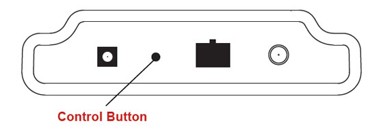 Ethernet Gateway Control Button Location