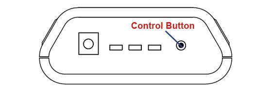 Cellular Gateway Control Button Location