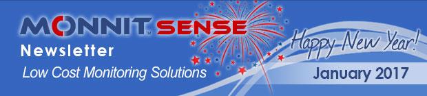 MonnitSense Newsletter - January 2017