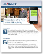 Monnit - Wireless Sensors Use Case for Hotels and Hospitality