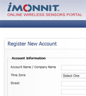 iMonnit Self Registration