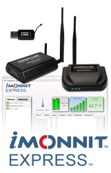 iMonnit Express now works with multiple wireless gateways