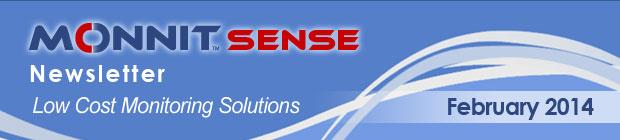 MonnitSense Newsletter - February 2014