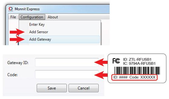 Add Gateways and Sensors