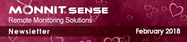 MonnitSense Newsletter - February 2018