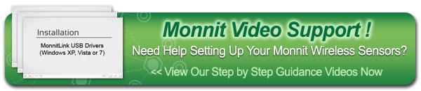 Need Help Setting Up Your Monnit Wireless Sensors? View Our Step by Step Guidance Videos Now.