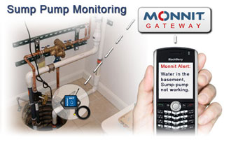 Sump Pump and Sump Pit Monitoring