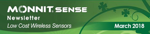 MonnitSense Newsletter - March 2018