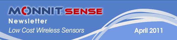 MonnitSense Newsletter - April 2011