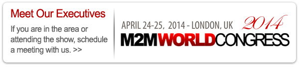 Schedule a meeting with us at M2M World Congress in London