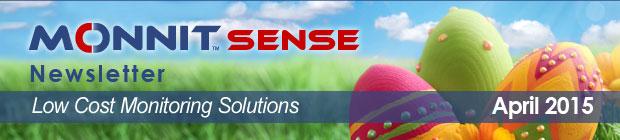 MonnitSense Newsletter - April 2015