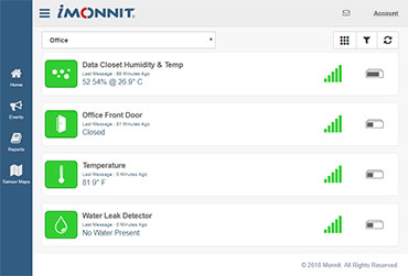 New iMonnit Portal