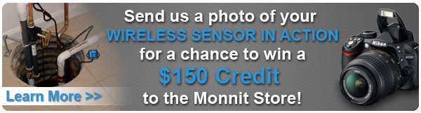 Submit a photo of your sensor application for a chance to win a $100 credit to the Monnit Store!