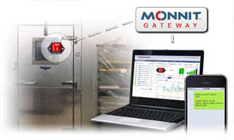 Remotely Monitoring Walk-In Cooler Temperatures