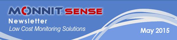 MonnitSense Newsletter - May 2015