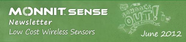 MonnitSense Newsletter - June 2012