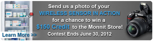 Submit a photo of your sensor application for a chance to win a $150 credit to the Monnit Store!