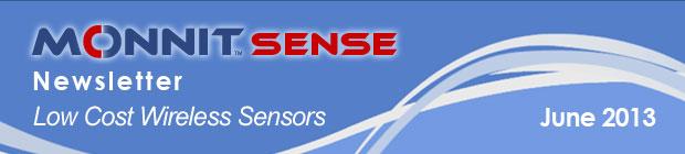 MonnitSense Newsletter - June 2013