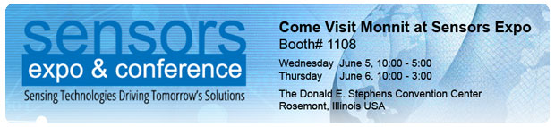 Visit Monnit at Sensors Expo
