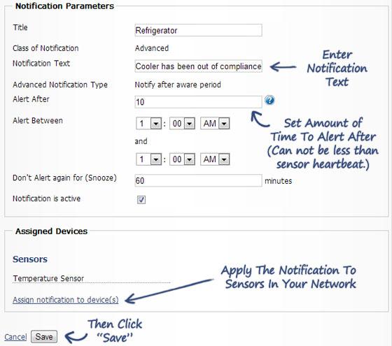 Create new notification