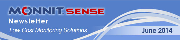MonnitSense Newsletter - June 2014