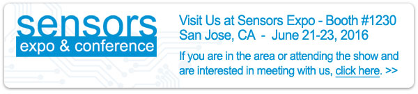 Visit Monnit at Sensors Expo 2016