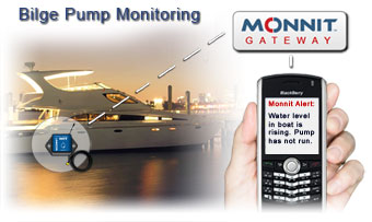 Boat or Watercraft Bilge Pump Monitoring