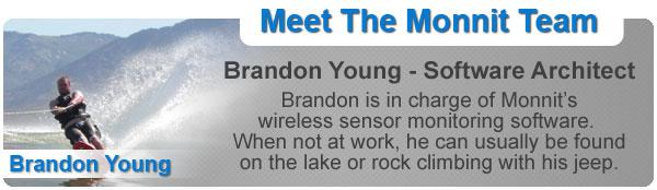 Meet the Monnit Team - Brandon