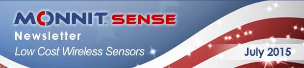 MonnitSense Newsletter - July 2015