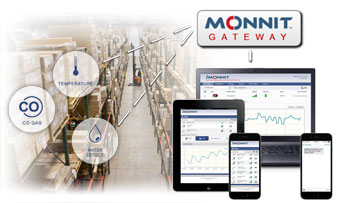 Monnit Remote Monitoring Solutions for Warehouses