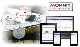 Monnit Remote Monitoring Solutions for Boats