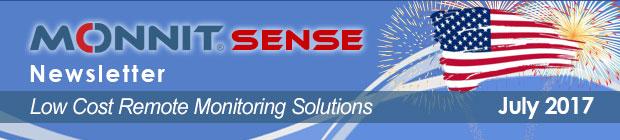 MonnitSense Newsletter - July 2017