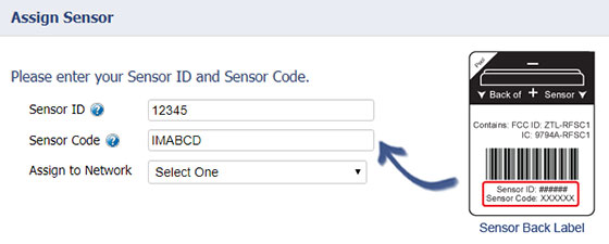 Add the Local Alert to your sensor network