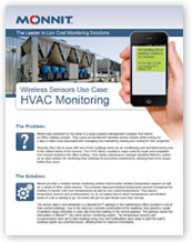 Monnit - Wireless Sensors Use-Case for HVAC System Monitoring