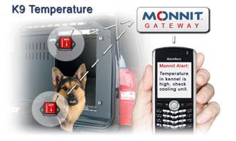 K9 Unit Temperature Monitoring