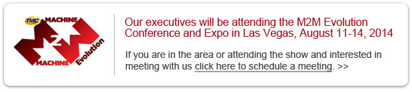 Schedule a meeting with us at M2M Evolution 2014