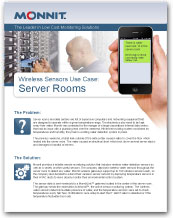 Monnit - Wireless Sensors Use Case for Datea Centers and Server Rooms