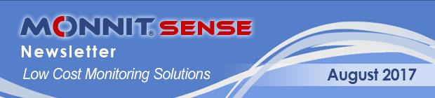 MonnitSense Newsletter - August 2017