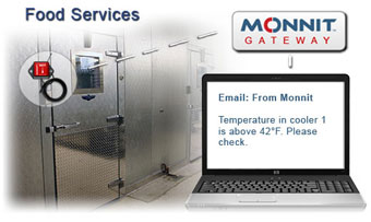 Commercial Food Service Temperature Monitoring